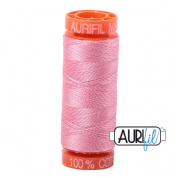 Aurifil 50 Cotton Thread - 2425 (Bright Pink)